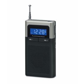 Radio Portátil Fm/am Reloj Y Alarma Rca Sp-1251