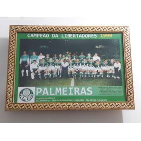Quadro 20x30 Cm - Palmeiras - Campeão Copa Libertadores 1999