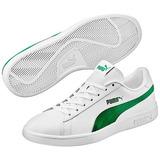 e3a2daedf6 Tenis Puma Blancos Con Verde Hombre - Deportes y Fitness en Mercado ...