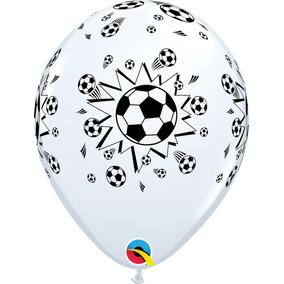 4cb54fe9e Balão Bola De Futebol Latex - Festas no Mercado Livre Brasil