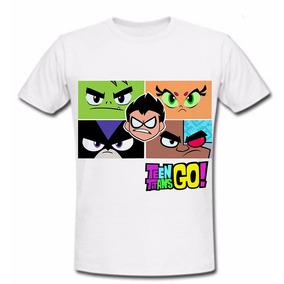 Playera Teen Titans Go Cartoon Titanes Jovenes Titanes2