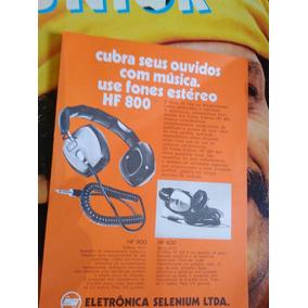 Folheto Propagand Antiga Fines Selenium Hf 800