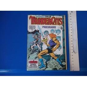 Hq Thunder Cats Nr 4 Gratís Cromos Para Você Colecionar