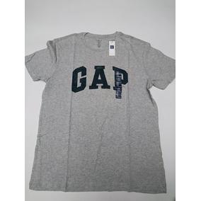 Gap Playera 100% Original Letras Estampadas