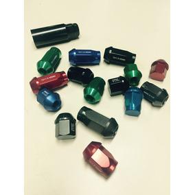 Set De Tuercas Tunning De Aluminio 12*1,5mm Colores