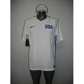 Jersey Original Nike Selección Usa Futbol Juegos Olimpicos 8781e34f38858