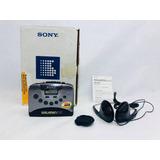 Walkman Sony Wm Fx251 Vintage Refurbished Caja Y Accesorios
