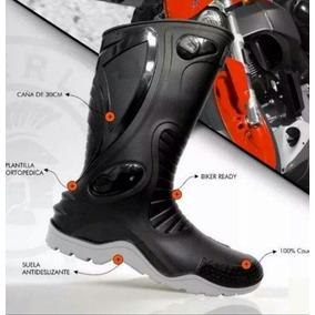 Botas Para Motociclista 100% Impermeables