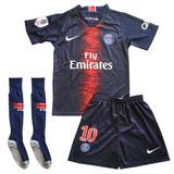 Uniforme Completo Do Psg Infantil Completo - Camisas de Times de ... 7535170a3f8aa