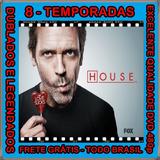 Dr. House Serie (1ª Até 8ª Temporada) + Frete Grátis
