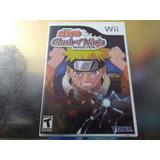 Juego De Wii Original,naruto Clash Of Ninja Revolution.