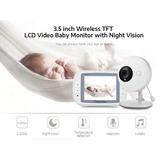 Kit Camara Y Monitor 2 Vias Seguridad Bebe Vision Nocturna