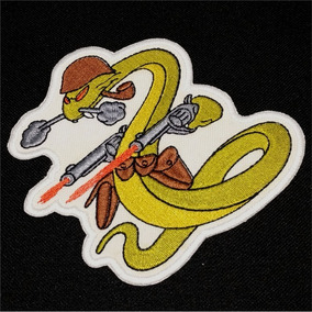 Eml007 Feb Cobra Belicosa 2 Guerra Patch Bordado 12.8x12.5cm