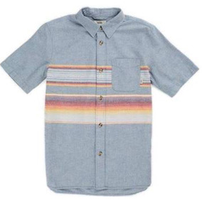 Camisa Vans Diseño De Líneas Naranjas