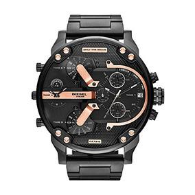7bf033c50a06 Reloj Diesel Big Daddy Negro - Joyas y Relojes en Mercado Libre México