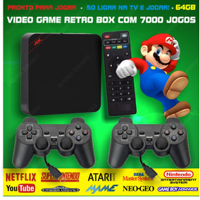 Retro Box - Video Game Multijogos Com 7000 Jogos Antigos