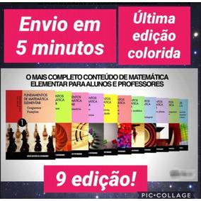 Fundamentos Da Matemática Elementar- Colorido 9 Edição
