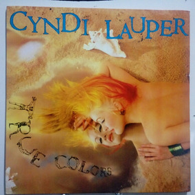Lp Cyndi Lauper- True Colors-1986