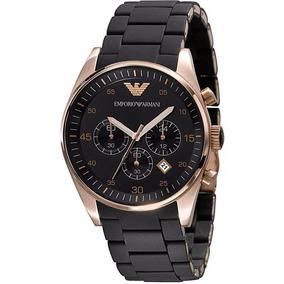 0704009a3a6 Relógio Emporio Armani Ar5905 Masculino Original Preto Rose