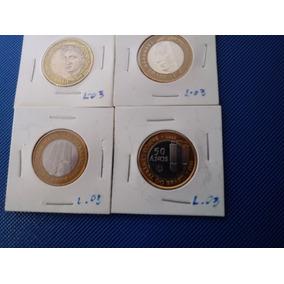 Moeda B C 40 Anos B C 50 Anos J K R$1,00 1998 (alpaca) L3