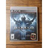 Diablo 3 Reaper Of Souls Playstation 3 Ps3 Buen Estado !!