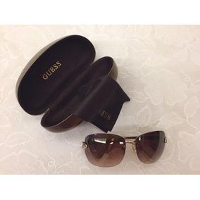 39b8a4d0c772d Óculos De Sol Guess Gu 6509 Marrom Original Novo - Óculos no Mercado ...