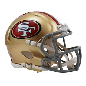 Capacete Riddell San Francisco 49ers Miniatura Revolution Sp