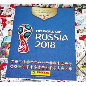 Album Tapa Dura Completo Copa Mundial Rusia 2018