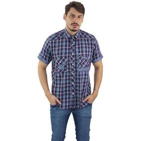 Camisa Crosby Xadrez Manga Curta - Não Perca