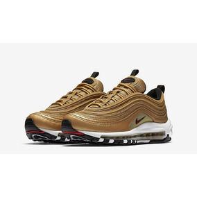 best website a7603 baea3 Zapatillas Nike Air Max 97 Metallic Gold Dorado Nuevo 2017