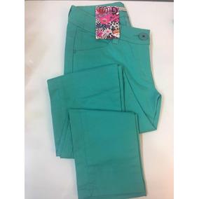 Pantalón Jeans Gabardina Elastizada Mujer T34 Palermo