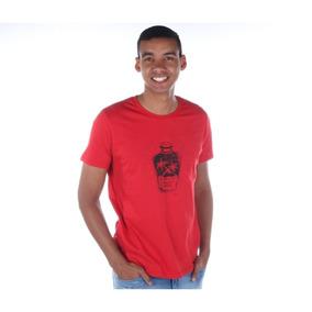 Macaquinho Colcci Vermelho - Camisetas Manga Curta para Masculino no ... ee9d2c58f9519