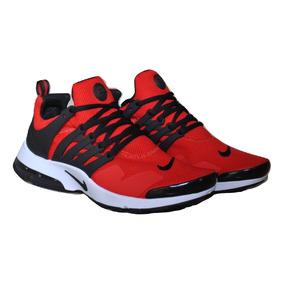 dc3ea67b190de Kp3 Zapatos Caballeros Nike Air Presto Clasico Rojo   Blanco