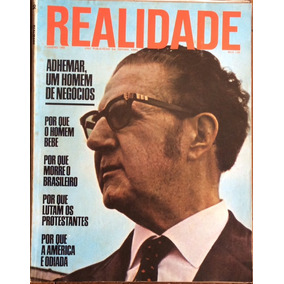 Revista Realidade Janeiro 1968 Adhemar De Barros América