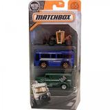 Matchbox Pack Com 3 - Urban Vehicles
