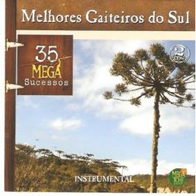Cd Melhores Gaiteiros Do Sul 35 Mega Sucessos Instrumental D