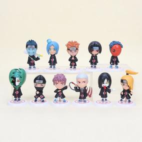 Kit 11 Figure Action Bonecos Naruto Hidan Madara Akatsuki