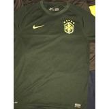 Camisa Oficial Nike Seleção Brasil Futebol Cbf 2013 Verde bae0dccfea1a1