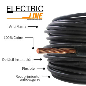 Cable Electrico Thw Cal 14 Electric Line 100% Cobre 100 Mts