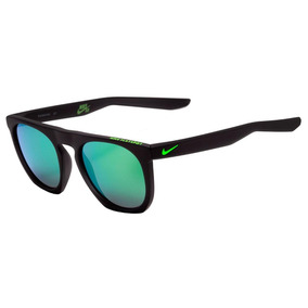 f5c5d87445ca9 Nike Flatspot Ev 0923 - Óculos De Sol 304 Preto Fosco  Verde