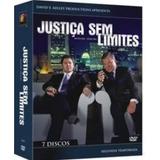 Box Original Dvd Justiça Sem Limites - 2ª Temporada - 7 Dvds