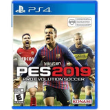 Juego Ps4: Pro Evolution Soccer 2019