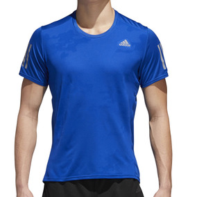 5d09c7d2c25fd Remera Adidas Running Hombre - Ropa y Accesorios Azul en Mercado ...