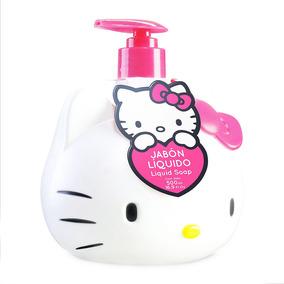 Jabon Liquido Hello Kitty 3d 500ml