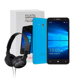 Celular Alcatel Fierce Xl 16gb Win10 + Diadema