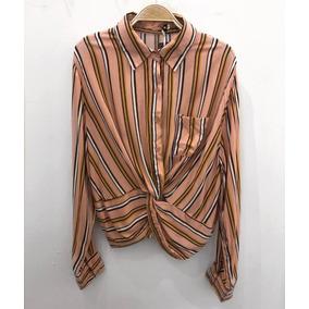 Camisa Rayada Rosada Dama - Ropa 75d457bb37f