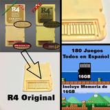 R4 Gold Pro 16gb 180 Juegos De Calidad Español Oferta!
