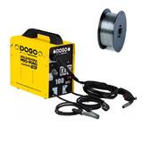 Soldadora Monofásica Dogo Mig 100 Amp + Alambre Flux 0,8mm