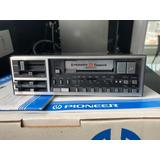 Rádio/toca Fitas Cassete Pioneer Kex-33 anos 80 Vintage