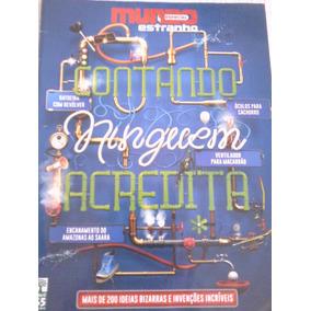 Revista Mundo Estranho Edição Especial Contando
